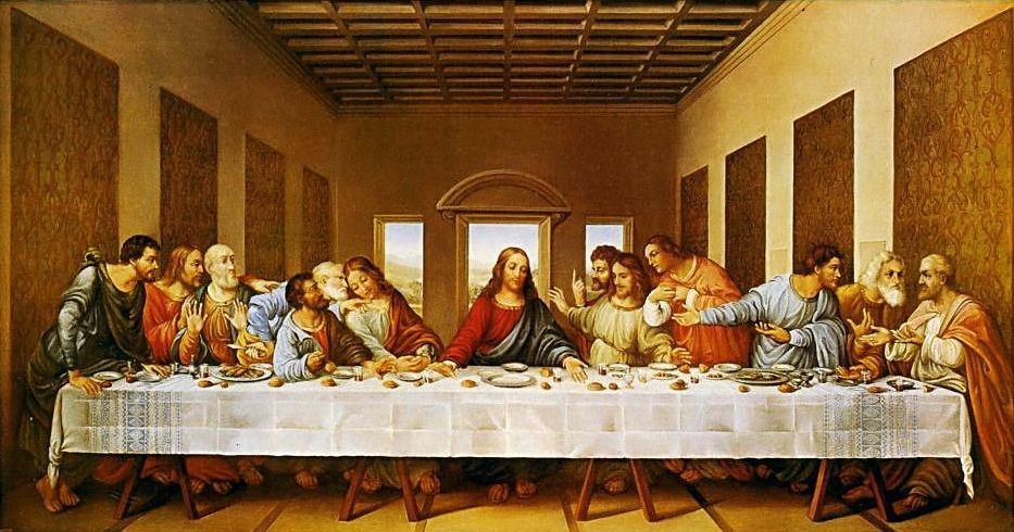 an analysis of the lords supper painting and the history behind it